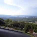 #AugustBreak Storm Brewing West of Chattanooga