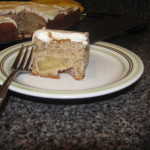 #FoodieFriday Apple Cake with Caramel Cream Cheese Frosting
