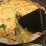 #FoodieFriday Biscuit Chicken Pot Pie