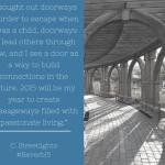 #Reverb15 Through the Doorway