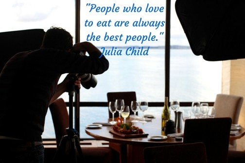 -People who love to eat are always the best people.- Julia Child