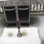 #WordlessWednesday Winter Tablescape